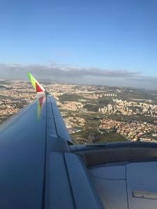 Chegando a Paris